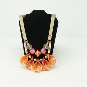 Chico's Fashion Boho Large Stones Necklace